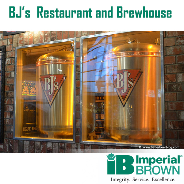 BJs Restaurant & Brewhouse tanks