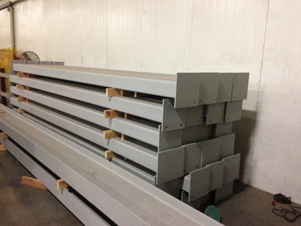 Steel Beams for grocery store warehouse