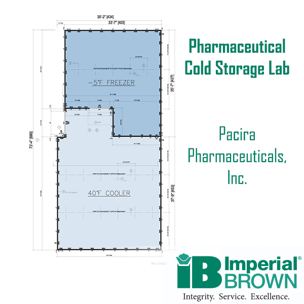 Pharmaceutical Cold Storage Lab